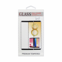 Стъклен протектор, No brand, За Samsung Galaxy Note 8, Full 3D, 0.3mm, Черен